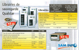 Publicités - Publicité Sam Info - Lognes - Seine Et Marne - Bon état - Advertising