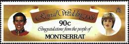 Montserrat 1981 - Mi 466A - YT 467 ( Lady Diana & Prince Charles ) MNH** - Montserrat