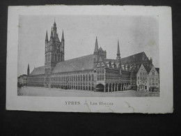 K6   1916 Feldpost Yper - Les Halles - Ieper