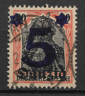 Danzig Gdansk 1920 Surcharge 5Pf On 30Pf. Michel 16/Scott 19. Used - Danzig