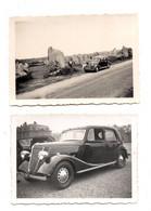2 Photos Automobile Ancienne En Bretagne. - Auto's