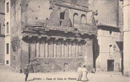 5019) ROMA - Casa Di COLA Di RIENZO - Frauen U. Mann - ALT ! - Altri