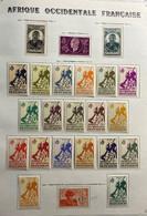 AFR110 AOF N°1 à 75 - PA 11-12-13-16à 28 - Service N°1 à 12 - Taxe 1 à 10 Neuf* (côte 263€) - Unused Stamps