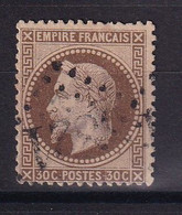 D 176 / LOT NAPOLEON N° 30  OBL COTE 25€ - 1863-1870 Napoleon III With Laurels
