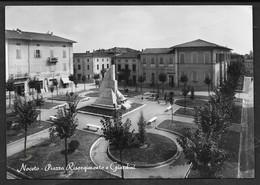 NOCETO PIAZZA RISORGIMENTO E GIARDINI VG. 1954 PARMA N° B553 - Parma