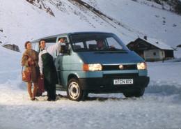 VW Bus T5 Synchro,Werbekarte VW, Ungelaufen - Toerisme