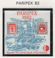 Bloc CNEP PARIPEX 1982 - CNEP