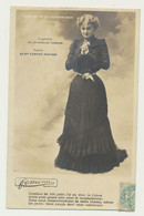 Carte Fantaisie Femme Artiste - Poésie De Mme Edmond Rostand - Comment On Dit Un Monologue...collection Fémina - Teatro