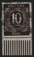 Bizone 1948 - Mi-Nr. 54 II W UR ** - MNH - Netz - BPP-Signatur - Zona Anglo-Americana