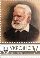 Ukraine 2021, World Literature, Writer Victor Hugo, 1v - Ucraina