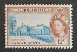 """MONTSERRAT YT 138 NEUF**MNH """"ELISABETH II"""" ANNÉES 1955/1957 - Montserrat"""