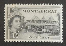 """MONTSERRAT YT 130 NEUF**MNH """"ELISABETH II"""" ANNÉE 1953 - Montserrat"""