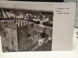 Cartolina  San Martino In Rio Prov Reggio Emilia Torrazzo E Panorama Parziale 1970 - Reggio Emilia