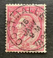 Leopold II OBP 46 - 10c Gestempeld OOSTMALLE - 1884-1891 Leopoldo II