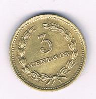 3 CENTAVOS 1974 EL SALVADOR /4175/ - El Salvador