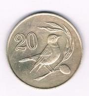 20 CENTS 1985  CYPRUS /4176/ - Cyprus