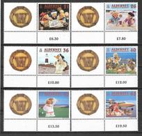 Alderney Aurigny 2000 - Série B.D. Vacances Y&T N° 152/157 ** Neuf Luxe (gomme D'origine Intacte) TB. - Alderney