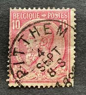 Leopold II OBP 46 - 10c Gestempeld PITTHEM - 1884-1891 Leopold II