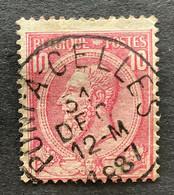 Leopold II OBP 46 - 10c Gestempeld PONT A CELLES - 1884-1891 Leopoldo II