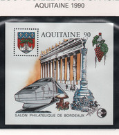 Bloc CNEP Aquitaine 1990 - Bordeaux - CNEP