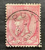 Leopold II OBP 46 - 10c Gestempeld PUTTE - 1884-1891 Leopoldo II