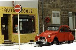42  SAINT CHAMOND  AUTO ECOLE RUE DU PILAT 1995   J P PORCHEROT  2 CV 2 CHEVAUX  CITROEN - TIRAGE LIMITE 30 EX NUMEROTES - Saint Chamond