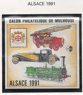 Bloc CNEP Alsace 1991 - Mulhouse - CNEP