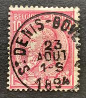 Leopold II OBP 46 - 10c Gestempeld ST DENIS BOVESSE - 1884-1891 Leopoldo II
