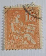 France 1900 - YT N° 117 - Type Mouchon - Perforé Perfin  LPC - Oblitéré - Gezähnt (Perforiert/Gezähnt)