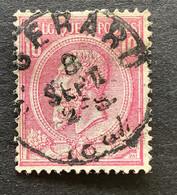 Leopold II OBP 46 - 10c Gestempeld ST GERARD - 1884-1891 Leopoldo II
