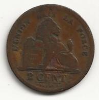 BELGIQUE - 2 Centimes - 1834 - TB/TTB - 02. 2 Centimes