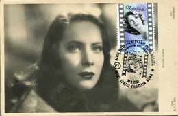 64222  Italia, Maximum 2021,  Movie Cinema Cinema, Alida Valli, Actress, Actrice,schauspielerin, Vintage Card - Maximum Cards