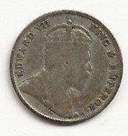 CEYLAN - 10 Cents - 1908 - TB/TTB - Colonies