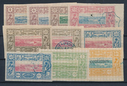 EB--54: COTE DES SOMALIS: Lot Avec N°8*(2)-10NSG-12 Obl-13*-13obl-15*-15obl-27*-28* - Unused Stamps