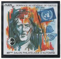 Bloc CNEP Paris 1995 - Hommage Au Général De Gaulle - CNEP