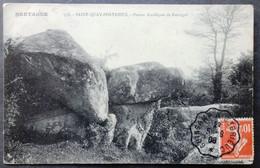 CPA 22 SAINT QUAY PORTRIEUX - Pierres Druidiques De Kertugal - Mancel 558 -- Réf. B 188 - Saint-Quay-Portrieux