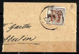 508 - GERMANY - SAXE - SAXONY - 1850 - CANCELLED - ON PIECE - FORGERY, FALSE, FALSCH, FAKE, FALSO - Verzamelingen (zonder Album)