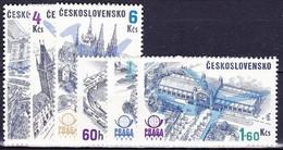 ** Tchécoslovaquie 1976 Mi 2324-9 (Yv PA 72-7), (MNH) - Ungebraucht