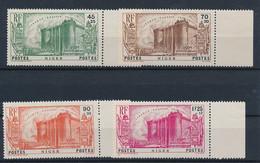 EB--60: NIGER: Lot Avec N°69/72** (manque N°73) - Unused Stamps