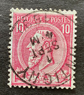 Leopold II OBP 46 - 10c Gestempeld TINTIGNY - 1884-1891 Leopoldo II