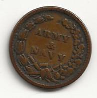 USA - Petit Jeton - Army & Navy - 1863 - TB/TTB - Autres