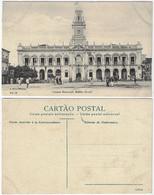 Brazil Bahia 1910s PostcardCity Hall In Salvador Editor J. Mello Nº 14 Unused - Salvador De Bahia