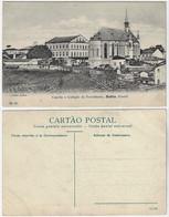 Brazil Bahia 1910s Postcard Chapel And College Of Providence In Salvador Editor J. Mello Nº 26 Unused - Salvador De Bahia