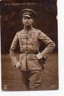 DC1510 - Ak Schöne Motivkarte Prinz Joachim Von Preußen Uniform Adel - Familias Reales