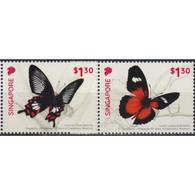 🚩 Sale - Singapore 2019 Singapore - Philippines Joint Stamp Issue  (MNH)  - Butterflies, Joint Issue - Joint Issues