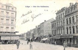 Liège - Rue Des Guillemins (animée,  1905 Timbre Taxe, Hôtel De L'Univers...) - Liège