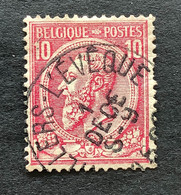 Leopold II OBP 46 - 10c Gestempeld VILLERS L'EVEQUE - 1884-1891 Leopold II