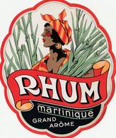 étiquette Ancienne Rhum Martinique Grand Arome - Rhum