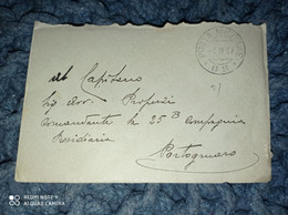 BUSTA CON LETTERA POSTA MILITARE 69 DEL 1917 VIAGGIATA VERSO PORTOGRUARO WW1 - Marcophilie