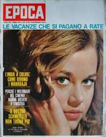 EPOCA 1963 N°658 JANE FONDA+RENATO GUTTUSO -  SC.4 - Unclassified